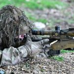 snipers in a Ghillie Suit