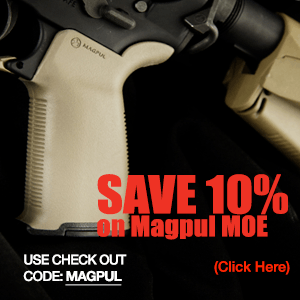 MAGPUL MOE+ AR-15 Grip