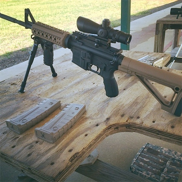 AR-15 Accessories and Aftermarket Parts - A Working Guide - Mounting