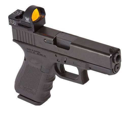 Vortex Razor Red Dot Sight on a glock