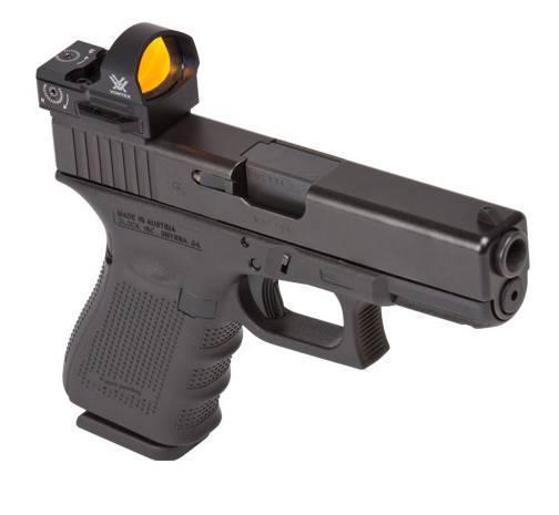 Vortex Razor Red Dot Sight on a glock